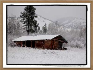 Original Ranch in Winter